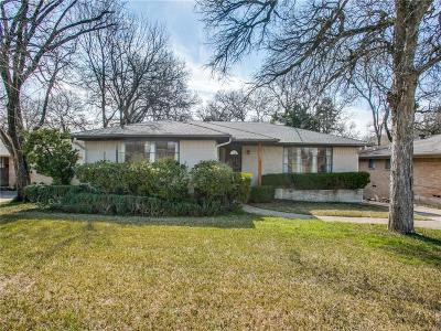 Dallas Single Family Home For Sale: 2434 El Cerrito Drive