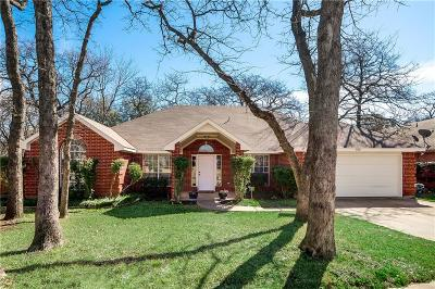 Arlington Single Family Home Active Option Contract: 5501 Bright Star Trail