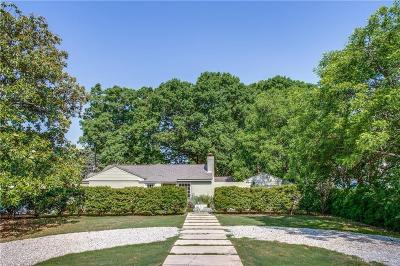 Dallas Single Family Home Active Option Contract: 4315 Shirley Drive