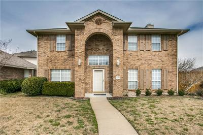 McKinney Single Family Home Active Option Contract: 5516 Vineyard Lane