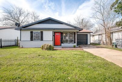 Dallas Single Family Home For Sale: 5323 Grovewood Street