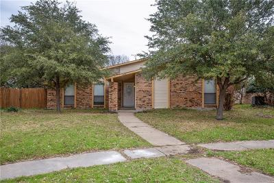 The Colony Single Family Home For Sale: 5648 Tucker Street