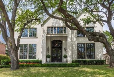 Dallas County Single Family Home For Sale: 4430 Arcady Avenue