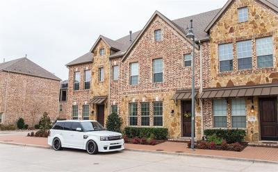 Plano Townhouse Active Option Contract: 5736 Kate Avenue
