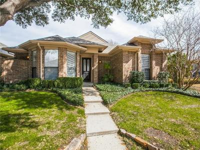 Dallas Single Family Home For Sale: 16630 Cleary Circle