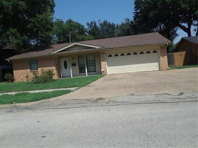 Irving Single Family Home Active Option Contract: 1822 Rindie Street