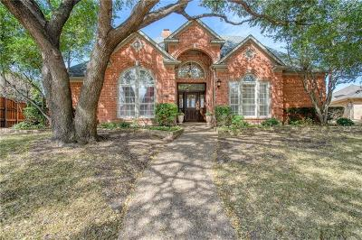 Plano Single Family Home Active Option Contract: 1717 Glen Springs Drive