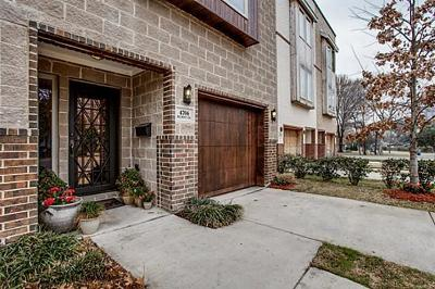 Dallas Townhouse For Sale: 4706 Belmont Avenue