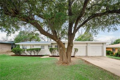 Fort Worth Single Family Home For Sale: 3913 Wedgway Drive