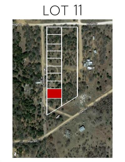 Montague County Residential Lots & Land For Sale: Lot 11 Maple
