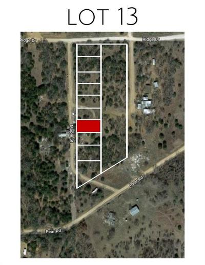 Montague County Residential Lots & Land For Sale: Lot 13 Maple