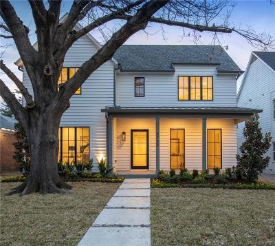 Dallas County Single Family Home For Sale: 4730 Stanford Avenue