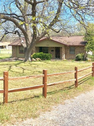 Comanche TX Single Family Home For Sale: $120,000