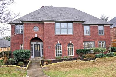 Carrollton Single Family Home For Sale: 1218 Cannes Place