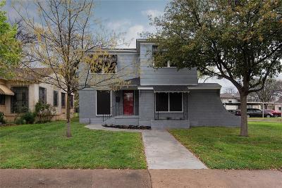 Dallas Single Family Home For Sale: 2607 Burlington Boulevard