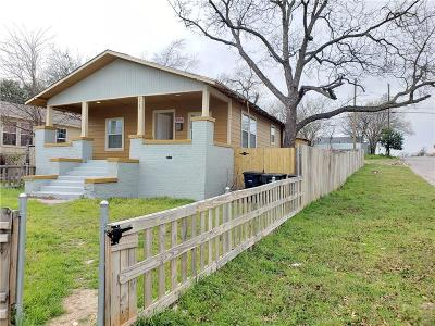 Fort Worth Single Family Home For Sale: 2525 Lincoln Avenue