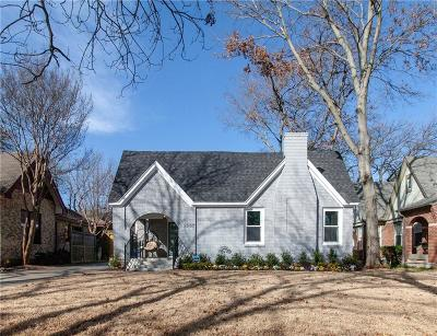 Dallas Single Family Home For Sale: 1007 N Clinton Avenue