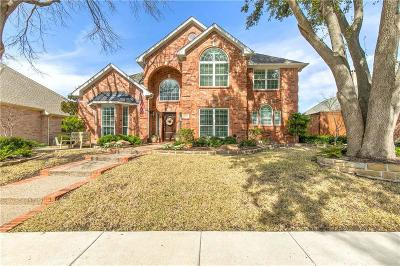 Plano Single Family Home Active Option Contract: 6429 Blacktree Drive