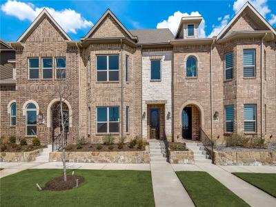 Frisco Townhouse For Sale: 3768 Wellesley Avenue