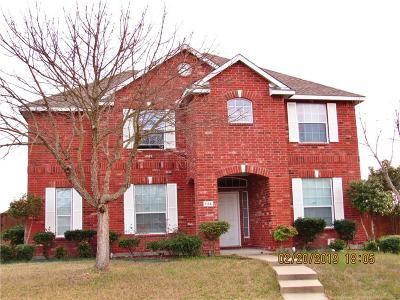 Allen Single Family Home For Sale: 1114 Hidden Creek Drive