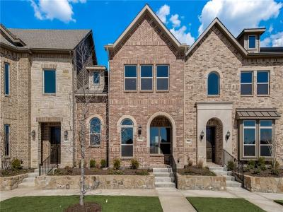 Frisco Townhouse For Sale: 3732 Wellesley Avenue