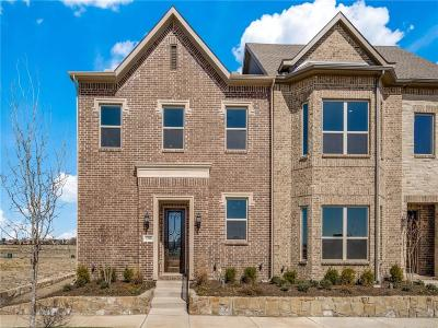 Frisco Townhouse For Sale: 3708 Wellesley Avenue