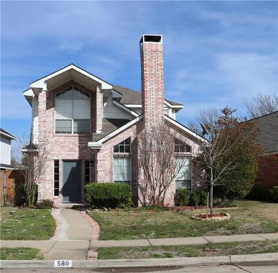 Coppell Residential Lease For Lease: 580 Raintree Circle