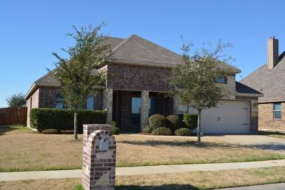 Waxahachie Single Family Home Active Option Contract: 125 Stallion Street