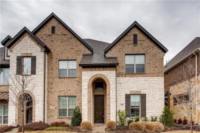 McKinney Townhouse For Sale: 7400 Mitchell Drive