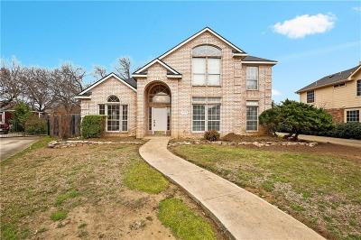 Mansfield Single Family Home For Sale: 1724 Newcastle Drive