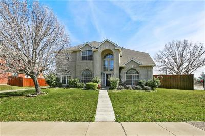 Carrollton Single Family Home For Sale: 3600 Canyon Oaks Drive