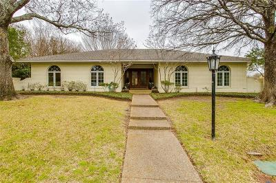 Benbrook Single Family Home Active Option Contract: 4304 Ridglea Country Club Drive