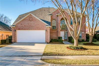 Flower Mound Single Family Home For Sale: 1609 Crabapple Lane