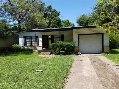 Dallas Single Family Home For Sale: 4823 Bromfield Street