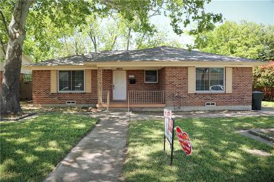 Garland Single Family Home For Sale: 3905 Douglas Drive