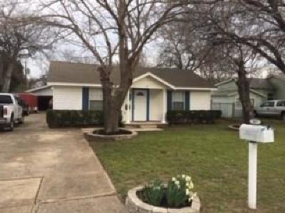 White Settlement Single Family Home Active Option Contract: 317 Mirike Drive