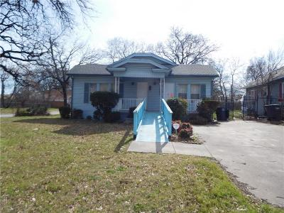 Fort Worth Single Family Home For Sale: 2920 Chenault Street