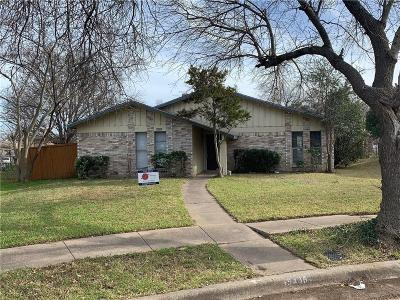 Garland Residential Lease For Lease: 5406 Redridge Pl