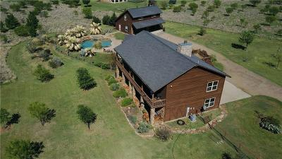 Palo Pinto County Single Family Home Active Kick Out: 1085 Arts Way