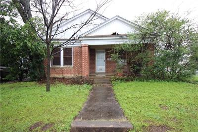 Fort Worth Single Family Home For Sale: 3500 S Henderson Street
