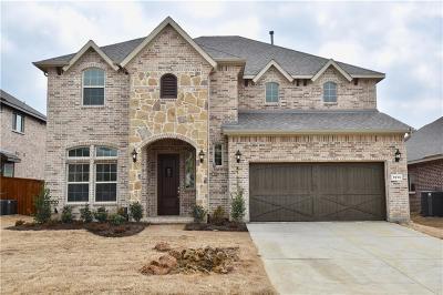 Little Elm Single Family Home For Sale: 1513 Torrent Drive
