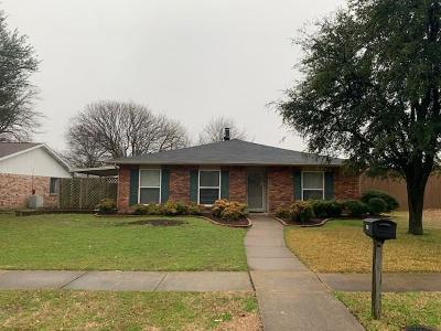 Collin County Single Family Home For Sale: 1632 Shreveport Trail