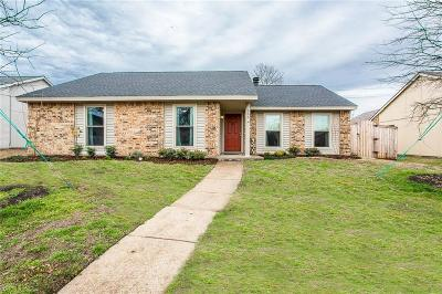 Allen Single Family Home Active Option Contract: 700 Timberbend Trail