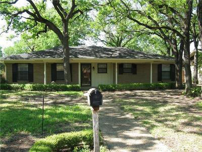 Corsicana Single Family Home Active Option Contract: 809 Madison Drive