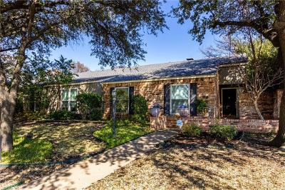 Dallas County Half Duplex For Sale: 10406 Pagewood Drive