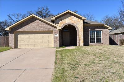 Stephenville Single Family Home Active Option Contract: 830 Sun Down