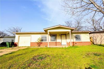 Arlington Single Family Home For Sale: 601 Connally Terrace