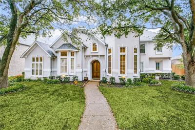 Plano Single Family Home Active Option Contract: 5968 Campus Court