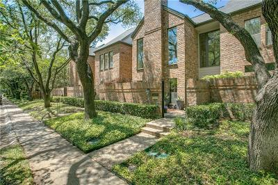 Highland Park Townhouse Active Option Contract: 4407 Westside Drive