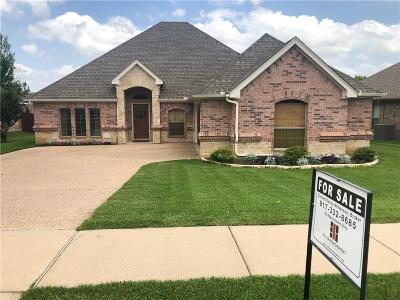 Weatherford Single Family Home For Sale: 1206 Thistle Hill Trail